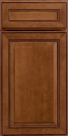 Merillat Clic Labelle Door Style In Sable Stain With Ebony Glaze On Maple Wood Cabinetry