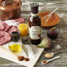 We've created and developed many salad dressings over the years, but none quite as special as our Balsamic Fig Dressing, which launched in 2008. Although intense with balsamic flavor and rich fig, this Company Classic has been one of our go-to dressings for many, many salads over the years as it is so versatile. #Tasteof25Years