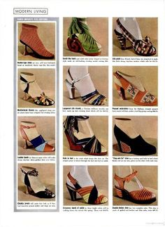 1939 Life magazine--spring shoes (those green ones?! gimme!)