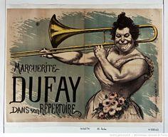 Marguerite Dufay dans son répertoire : [affiche] / [Louis Anquetin]  Auteur :      Anquetin, Louis (1861-1932). Illustrateur  Éditeur :      [s.n.]  Éditeur :      [imp Edw Ancourt] ([Paris])  Date d'édition :      1895