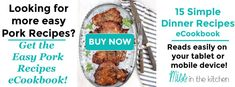 Easy Marinated Pork Chops Grilled or Baked - Miss in the Kitchen - Recipes Easy Dinner Recipes Pork, Best Soup Recipes, Summer Grilling Recipes, Pork Chop Recipes, Chicken Recipes, Favorite Recipes, Marinated Pork Chops Grilled, Balsamic Pork Chops, Seared Pork Chops