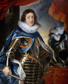 Louis XIII, surnommé « Louis le Juste », né le 27 septembre 1601 au château de Fontainebleau et décédé le 14 mai 1643 au château neuf de Saint-Germain-en-Laye, est roi de France et de Navarre entre 1610 et 1643. Il est le fils de Henri IV et de Marie de Médicis. L'image de ce roi est inséparable de celle de son principal ministre, le cardinal de Richelieu.