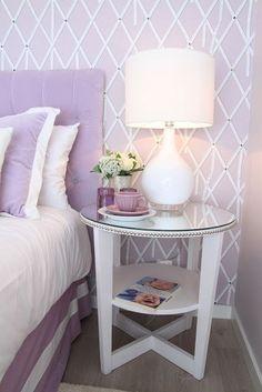 Mesitas de noche en pinterest habitaciones blancas - Mesitas noche originales ...
