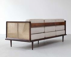 Sofa by Martin Eisler | From a unique collection of antique and modern sofas at https://www.1stdibs.com/furniture/seating/sofas/