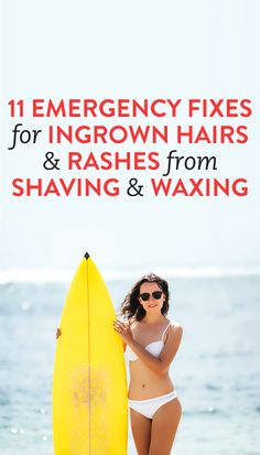 11 Tips To Keep Your Bikini Line Smooth & Bumpless - Araba - Some women really, really resent shaving (or all hairremoval, for that matter), and justifiably so. Summer Beauty Tips, Beauty Tips In Hindi, Health And Beauty Tips, Health Advice, Ingrown Hair Remedies, Ingrown Hairs, Ingrown Hair From Waxing, Bump Hairstyles, Summer Hairstyles