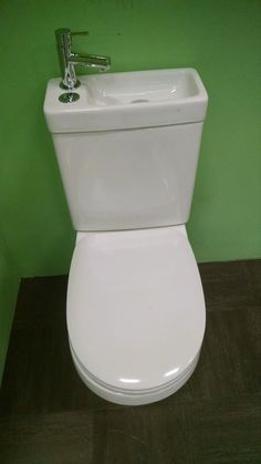 Toilet and Sink Combined