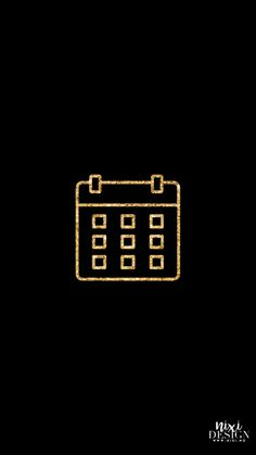 Iphone Logo, Iphone Icon, Black And Gold Aesthetic, Gold App, Christmas Apps, Apple Icon, Phone Wallpaper Design, Iphone App Design, Iphone Layout