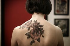 geometric shoulder tattoos for girls - Google Search