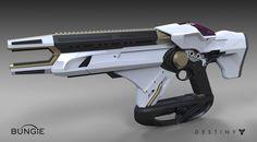 ArtStation - Destiny - The Taken King : Exotic Fusion Rifle (Telesto), Matt Lichy
