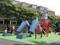 儿童游乐场就该这么设计!