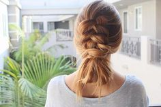 100 of the Best Braided Hairstyles You Havent Pinned Yet via Brit + Co Braided Bun Hairstyles, Pretty Hairstyles, Braided Buns, Thick Hairstyles, Heatless Hairstyles, Diy Braids, Twist Braids, Diy Tresses, Kayley Melissa