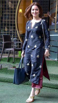 Simple Kurta Designs, Kurta Designs Women, Stylish Dress Designs, Stylish Dresses, Simple Dresses, Casual Indian Fashion, Indian Fashion Dresses, Indian Designer Outfits, Indian Outfits