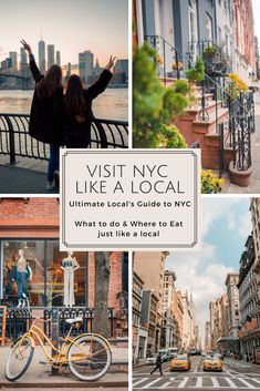 How to Visit NYC like a Local | Locals Guide to NYC Complete with Things to Do & Travel Tips on visiting NYC, featuring NYC travel photography and city life. Complete travel guide on what to do and see as a local would do: sightseeing, entertainment, leisure, coffee, food, drinks and rooftop suggestions.