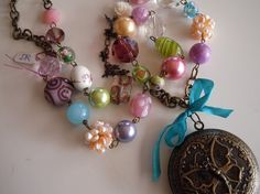 garden party, handmade jewelry