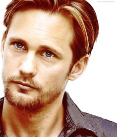 Thankful... for another gorgeous picture of Alexander Skarsgard.