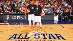 Both Tamika Catchings and teammate Katie Douglas were voted as starters for the 2011 WNBA All-Star Game.