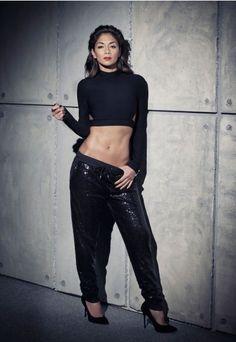 14f2825fcb0c Nicole X Missguided Sequin Joggers Jogging Pants Nicole Scherzinger,  Trouser Pants, Trousers Women,