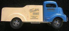1950s Smith Miller Furniture Mart Delivery Truck Original
