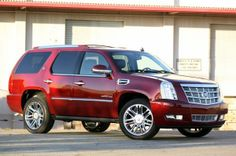 ford escalade suv | Red Cadillac Escalade SUV | Cars Online Modifications