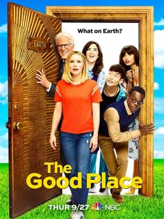 Good Place Season 3 Poster: Eleanor and the Gang Come Back Down to Earth The Good Place Season 3 Poster Full The Good Place Episodes, The Good Place Netflix, Series Online Free, Watch Free Movies Online, 3 Online, Best Tv Shows, Favorite Tv Shows, Movies And Tv Shows, Kristen Bell