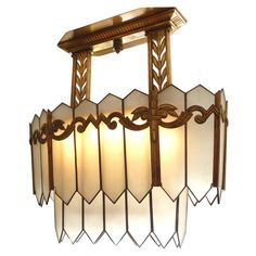 Art Decó chandelier from Chicago Opera House  ~ 1929