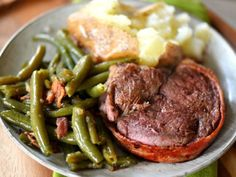 The classic Bacon-Wrapped Filet Mignon is easier to make than you might think! A truly delicious and EASY dinner that anyone can prepare! Great for special occasions and holidays! Bacon Wrapped Filet Mignon Recipe, Filet Mignon Steak, Meat Steak, Best Bacon, Grilled Meat, Great Recipes, Easy Recipes, Pot Roast, Easy Meals