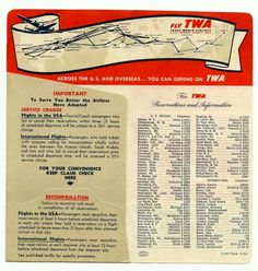 TWA - Trans World Airlines
