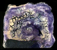 Tiffany Stone - Utah (Also known as Opalized Fluorite, Opal Fluorite, Bertrandite, Ice Cream Opalite, Purple Opal)