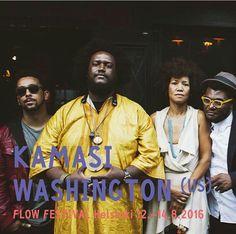 #KamasiWashington confirmed for #FlowFestival 2016