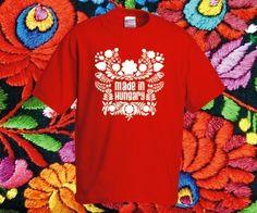 9f86ba58c0 Made in Hungary póló - egy igazán népi póló nemzeti színekben. Pólóműhely  Webáruház