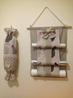 Burlap Patches Sewing Projects Kitchen Kit Sewing Tips Fabric Crafts Dish Towels Dishes Build Your OwnGood idea, but would definitely use different patterns Sewing Hacks, Sewing Projects, Sewing Tips, Home Crafts, Diy And Crafts, Stick Crafts, Kitchen Kit, Kitchen Decor, Clothespin Bag