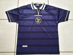Vintage UMBRO Scotland National Team 1998 Soccer Jersey Men's Large