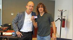 2014-02-07 Carles Puyol hace socia a su hija Manuela