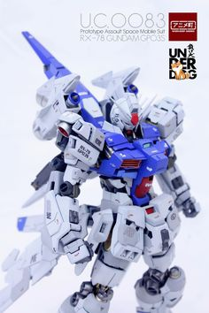 GUNDAM GUY: MG 1/100 RX-78 Gundam GP02S - Customized Build