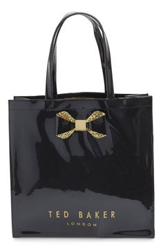 Ted Baker London 'Large Glitter Bow Icon' Tote available at #Nordstrom