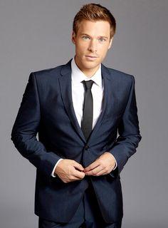 Modern slim fit suit Amaro/Heise, Blue - Hugo Boss | Men's Fashion ...