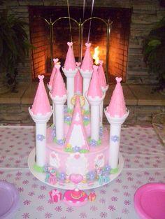 wilton romantic castle cake set instructions