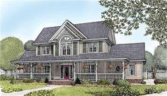 This house plan features a fireplace, built-ins, foyer, corner lot/side load garage, formal dining room, great/gathering room, study/bedroom, mother-in-law suite, work shop, home office, walk-in closet, media room, den/library, storage space, special ceiling treatments, master suite, split bedroom, guest room, family room, island kitchen, front porch, rear porch, side porch, and oversized garage.