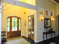 The Birchwood House Plan - Foyer