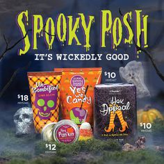 Spooky Posh! Get natural-based wickedly good clean here! https://angelajoy.po.sh