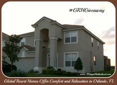 Enter Global Resort Homes Orlando, FL Getaway Giveaway! Win A Vacation, Win A Trip, Dream Vacations, Orlando Resorts, Orlando Vacation, Orlando Florida, Thing 1, Easy Entry, Enter To Win