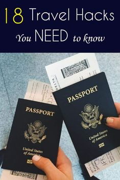 18 travel hacks everyone needs to know about. tips 18 Travel Hacks Everyone Needs To Know About - Packing Tips For Vacation, Travelling Tips, Vacation Trips, Vacation Travel, Packing Hacks, Cruise Tips, Traveling Europe, Vacation Deals, Backpacking Europe