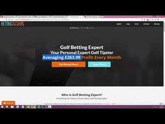 Best Betting Strategies- Guaranteed Wins Make $300Month With Sports Bett... Golf Betting, Sports Betting, Tower Fan, Youtube, Youtubers, Youtube Movies