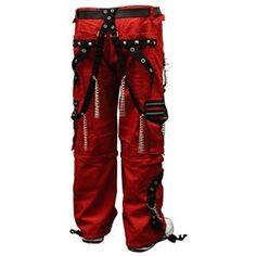 #Bewild                   #ApparelTops              #Tripp #Dungeon #Dweller #Bondage #Pants #(Red/Black)                         Tripp NYC New Dungeon Dweller Bondage Pants (Red/Black)                                                 http://www.snaproduct.com/product.aspx?PID=6780040