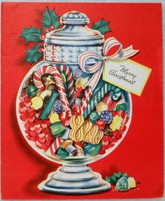Vintage Christmas Images, Old Christmas, Old Fashioned Christmas, Retro Christmas, Vintage Holiday, Christmas Pictures, Christmas Crafts, Christmas Ideas, Holiday Greeting Cards