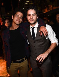 Dylan O'Brien & Tyler Posey The 'American Assassin' film premiere on September 12, 2017 in Los Angeles.