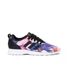 Sneaker Shop, Adidas Zx Flux, Adidas Sneakers, Smooth, Brand New, Stitch, Shoes, Black, Style