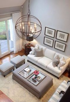 inspiracion neutral living roomssmall - Ideas Of Living Room Decorating