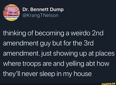 Funny Quotes, Funny Memes, Hilarious, People Twitter, Wit And Wisdom, Never Sleep, 2nd Amendment, I Can Relate, My Favorite Part