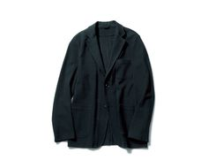 SOPHNET. | PRODUCT | STRETCH COTTON JERSEY 2BUTTON UNCON JACKET